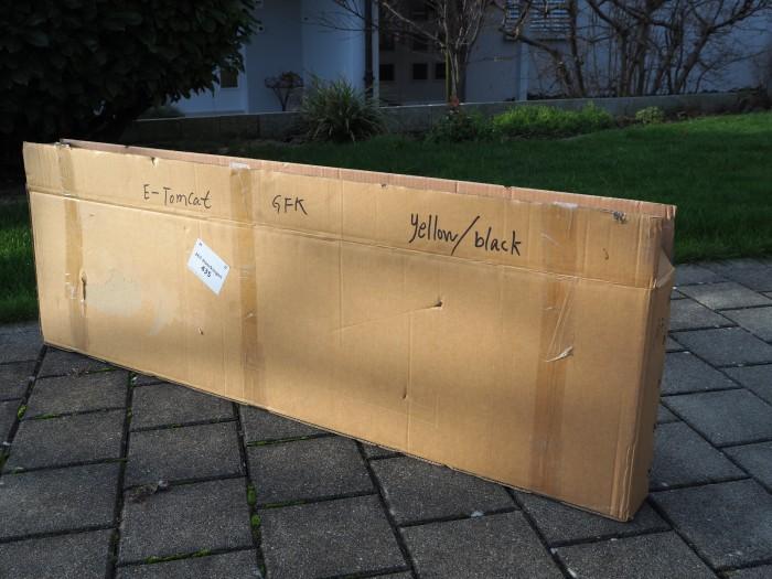 Originalverpackung E-Tomcat